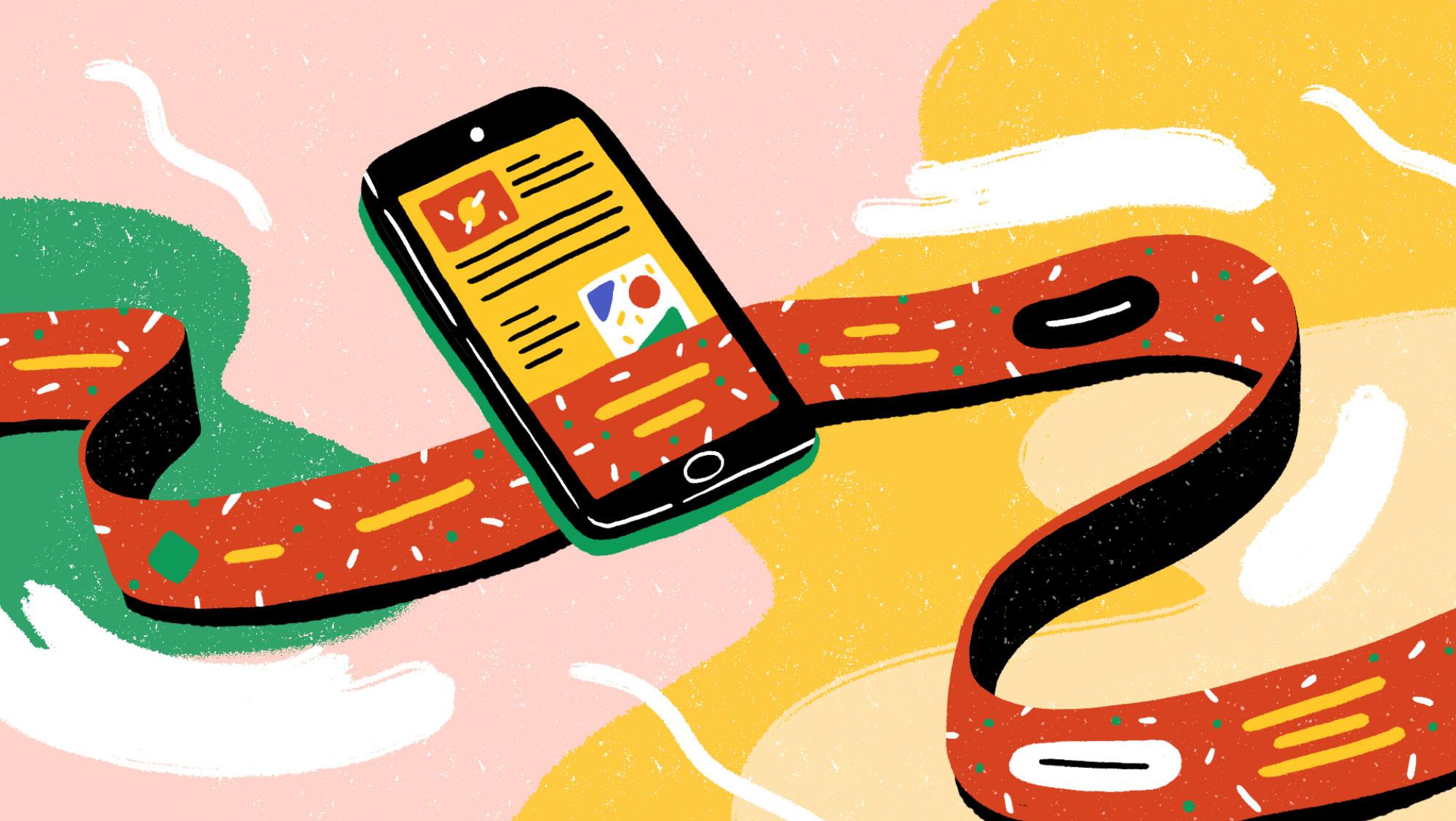Interactive scroll, la publicité digitale, c'est quand le pouvoir est dans le doigt.